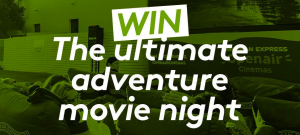 Kathmandu – Win a double ticket to OpenAir Cinemas to watch the screening of The European Outdoor Film Tour film at Cadigal Green, Sydney University