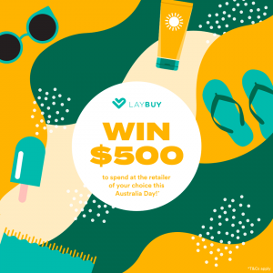 Laybuy – Win $500 to spend at a #laybuy retailer of your choice