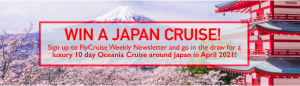 Main Beach Travel – Win a cruise for 2 on the Oceania Nautica