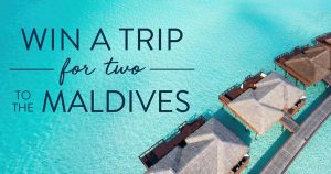 MyNext Escape – Win a trip for 2 Maldives