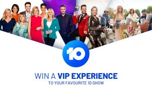 Network 10 – Win 1 of 4 prizes of a trip for 2 to Sydney or Melbourne