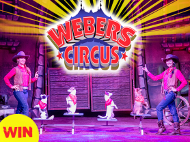 Think Local – Win 1 of 3 family tickets to Webers Circus