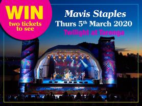 Think Local – Win 2 tickets  to see Mavis Staples Twilight at Taronga