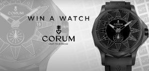 WorldTempus – Win a Corum Admiral Legend 42 watch valued at CHF 5,200
