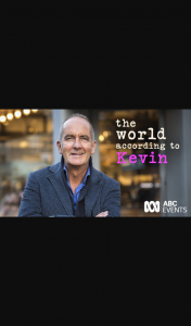 ABC Radio Perth – Win a Double Pass to See The World According to Kevin Mccloud (prize valued at $1,240)