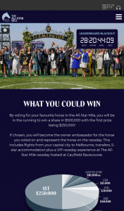 All Star Mile – Win a Share In $500000 With The First Prize Being $250000 (prize valued at $200)