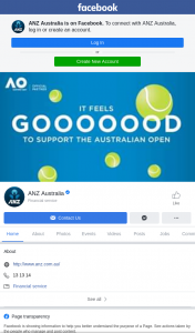 ANZ – Win Australian Open Tickets (prize valued at $430)