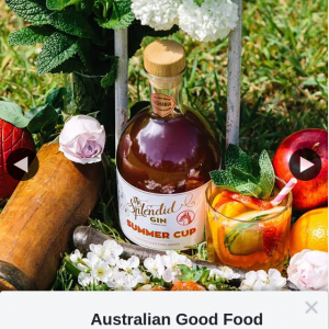 Australian Good Food Guide – Win a Bottle of Summer Cup From The Splendid Gin (prize valued at $60)