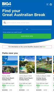 BIG4 Holiday Parks – Win a Bonus Break (prize valued at $5,000)