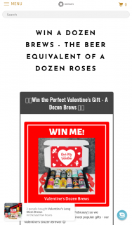 Brewquets – Win a Dozen Brews The Beer Equivalent of a Dozen Roses (prize valued at $100)