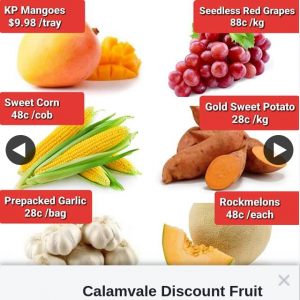 Calamvale Discount Fruit Barn – Win a $60 Store Voucher