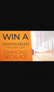Channel 7 – Sunrise – Win a Diamond Necklace From Shannakian Fine Jewellery (prize valued at $700)