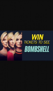 Channel 7 – Sunrise – Win a Double Pass to See The Movie Bombshell