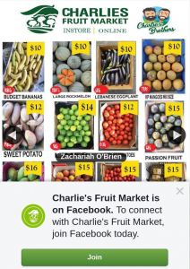 Charlie's Fruit Market Brisbane – Win 4 Boxes of Fresh Fruit N Veg With Charlie's Bulk Sale