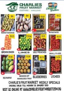 Charlie's Fruit Market Everton Park – Win 4 Boxes of Fresh Fruit N Veg With Charlie's Bulk Sale
