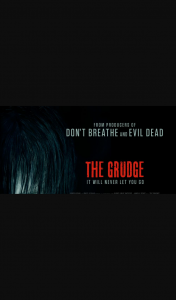 Community News – Win 1 of 25 Double In-Season Passes to See The Grudge