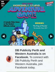DB Publicity – Win Double Pass Sonny Yang's Incredibly Stupid Adventure Game