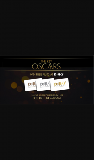 Dendy Cinemas – Win Best Picture at The 2020 Oscars (prize valued at $20,800)