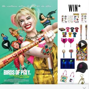 Event Cinemas – Win One of Twenty Birds of Prey Packs
