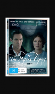 Female – Win One of 5 X The Aspern Papers DVDs (prize valued at $1)