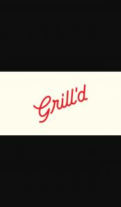 Grill'd – Win Various Prizes Aust Open Quiz
