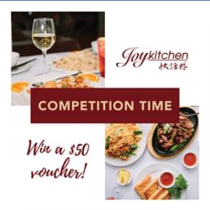 Joy Kitchen – Win a $50 Voucher for Joy Kitchen Fremantle