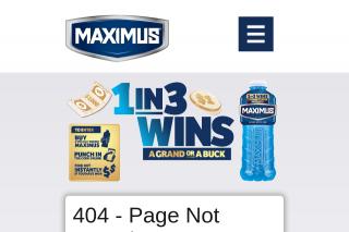 Maximus – Win a Grand Or a Buck