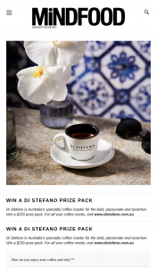 MindFood – Win a $250 Prize Pack (prize valued at $250)