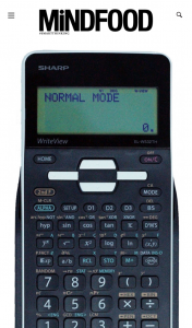 MindFood – Win 1 of 4 Sharp Elw532thbwh Writeview Scientific Calculators Valued at $69.95 (prize valued at $69.95)