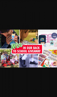 Mum Central – Win One of Our 15 Back-To-School Prizes (prize valued at $1,200)