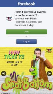 Perth Festivals & Events – Win 1 of 2 Double Passes to See Mr Snot Bottom's Horrible Terrible Really Really Bad Bad Show on Sunday 26 January at 3pm