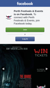 Perth Festivals & Events – Win Tickets to See The Grudge