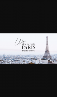 Porte-à-Vie – Win a Trip to Paris (prize valued at $7,000)