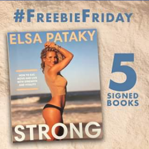 QBD Books – Win 1 of 5 Copies of Elsa Pataky's New Lifestyle Book Strong Signed By Her⠀