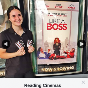 Reading Cinemas Auburn – Win a Double Pass to Like a Boss