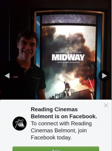Reading Cinemas Belmont – Win a Double Pass to See Midway