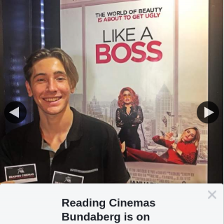 Reading Cinemas Bundaberg – Win a Like a Boss Double Pass