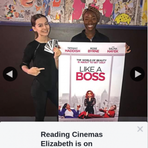 Reading Cinemas Elizabeth – Win a Double Pass to See Like a Boss