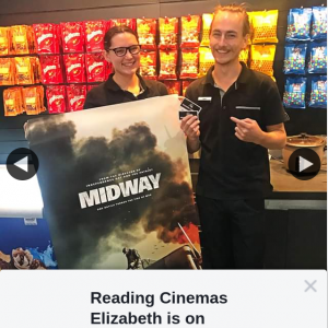 Reading Cinemas Elizabeth – Win a Double Pass to See Midway