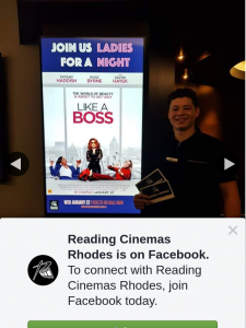 Reading Cinemas Rhodes – Win a Like a Boss Double Pass
