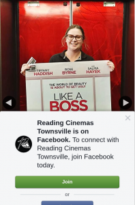 Reading Cinemas Townsville – Win a Double Pass to See Like a Boss