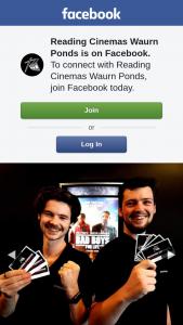 Reading Cinemas Waurn Ponds – a Double Pass
