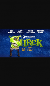 SmoothFM – Win Five Tickets to Take Your Family Along When Shrek The Musical Opens at The Her Majesty's Theatre