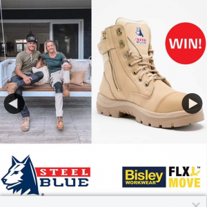 Steel Blue Boots – Win a Bisley Flex & Move™ Clothing Pack and a Pair of Steel Blue Boots