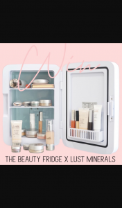 The Beauty Fridge Official – and All You Have to Do Is Follow The Below (prize valued at $220)