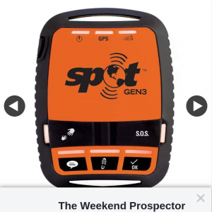 The Weekend Prospector – Win a Spot Gen 3 (prize valued at $199)