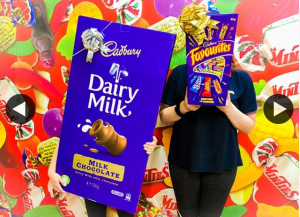 Tom's Confectionery Warehouse – Win a 10kg Cadbury Block Or 5kg Cadbury Favourites Box