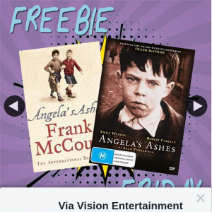 Via Vision Entertainment – Win a Copy of Angela's Ashes on DVD