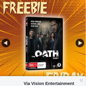 Via Vision Entertainment – Win a Copy of The Oath Season One on DVD