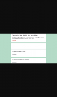 Video Ezy – Win You Must Fill Out The Form Correctly and Tell Us What Makes Australia Day Special to You